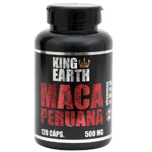 Maca Peruana 120 Caps King Earth