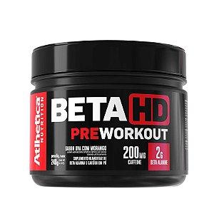 Beta Hd Pre Workout 240g Uva Com Morango