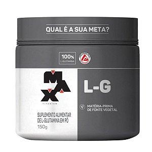 L-glutamina Pt 150g Max Titanium