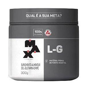 L-glutamina Pt 300g Max Titanium