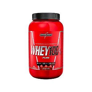 Whey 100% Pure 907g Chocolate Integralmedica