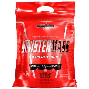 Sinister Mass 3kg Chocolate Coconut Integralmedica