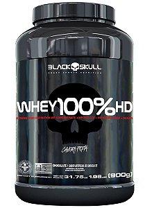 Whey 100% Hd 900g Pt Chocolate Black Skull