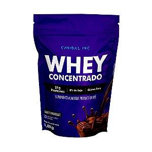 Whey Concentrado 1,8kg Chocolate Canibal Inc