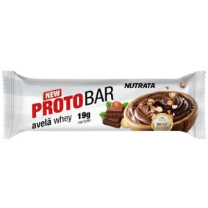 Proto Bar 70g Avelã Whey Nutrata