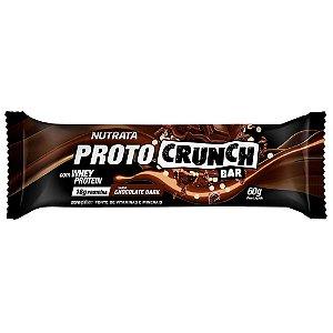 Proto Crunch Bar 60g Chocolate Dark Nutrata
