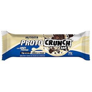 Proto Crunch Bar 60g Cookies And Cream Nutrata