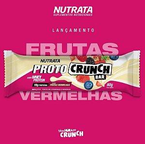 Proto Crunch Bar 60g Frutas Vermelhas Nutrata