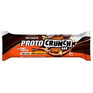 Proto Crunch Bar 60g Paçoca Com Chocolate Nutrata