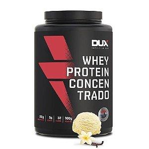 Whey Protein Concentrado 900g Baunilha Dux Nutrition