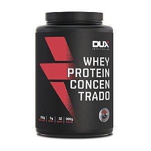 Whey Protein Concentrado 900g Sem Sabor Dux Nutrition