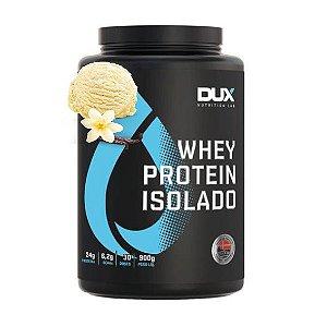 Whey Protein Isolado 900g Baunilha Dux Nutrition