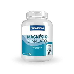 Magnésio Dimalato 120 Cápsulas Newnutrition