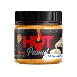 Pasta De Amendoim 500g Leite Condensado Hot Fit
