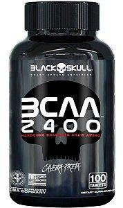 BCAA 2400 100 Tabs- Black Skull