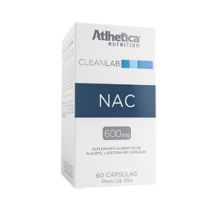 Nac Cleanlab 60 Cáps Atlhetica Nutrition