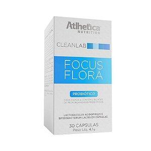 Focus Flora Probiótico 30 Cáps Atlhetica Nutrition