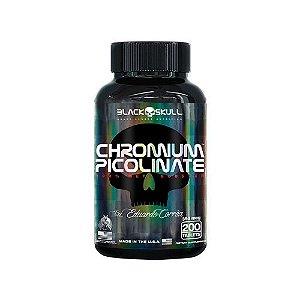 CHROMIUM PICOLINATE 200TABS BLACK SKULL