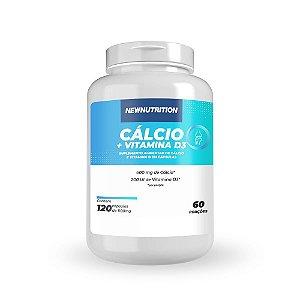CÁLCIO + VIT. D3 120 CÁPS NEWNUTRITION