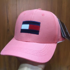 Cap Tommy Hilfiger Flag Rose Strapback Aba Curva