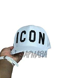 Cap Dsquared2 Icon White Strapback Aba Curva