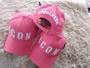 Cap Dsquared2 Icon Rose Strapback Aba Curva