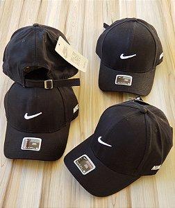 Cap Nike Trace Small Black Strapback Aba Curva