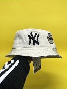 Bucket Hat New Era New York Yankees Cream