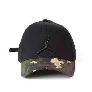 Cap Jordan Brand Jumpman Black Camo Strapback Aba Curva