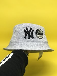 Bucket Hat New Era New York Yankees Grey