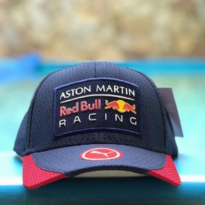Cap Puma Red Bull Racing Aston Martin Navy Aba Curva