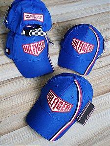 Cap Tommy Hilfiger Grand Prix Royal Blue Strapback Aba Curva