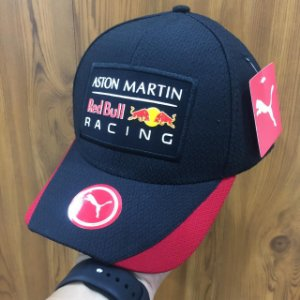 Cap Puma Red Bull Racing Aston Martin Black Aba Curva