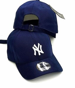 Cap New Era New York Yankees Navy Strapback Aba Curva