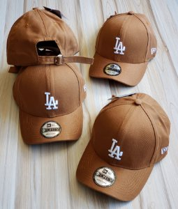 Cap New Era Los Angeles Dodgers Land Strapback Aba Curva