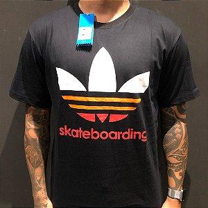 Camiseta Manga Curta Adidas Skateboarding Black