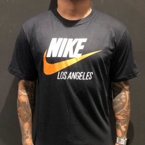 Camiseta Manga Curta Nike Los Angeles Black