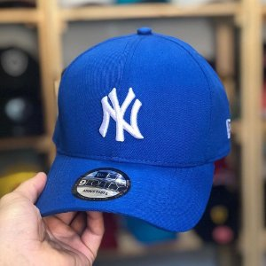 Cap New Era New York Yankees Royal Blue Strapback Aba Curva