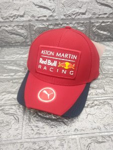 Cap Puma Red Bull Racing Aston Martin Red Aba Curva