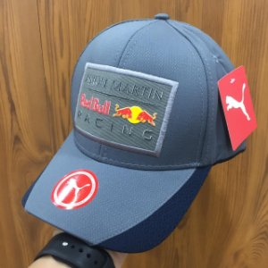 Cap Puma Red Bull Racing Aston Martin Grey Aba Curva