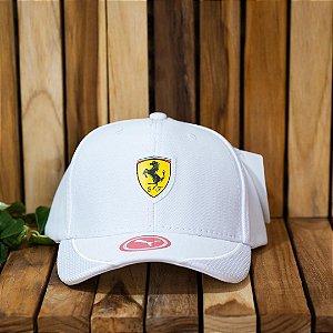 Cap Puma Scuderia Ferrari White Aba Curva