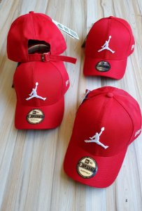 Cap Jordan Brand Jumpman Red Strapback Aba Curva
