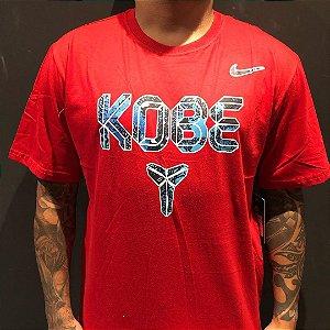 Camiseta Manga Curta Nike Kobe Bryant Red