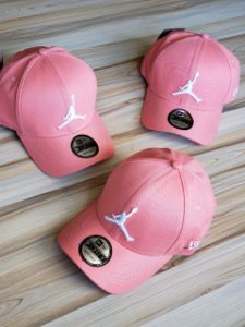Cap Jordan Brand Jumpman Rose Strapback Aba Curva