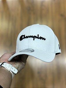 Cap Champion Class White Strapback Aba Curva