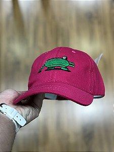 Cap Lacoste Jeremyville Design Pink Strapback Aba Curva