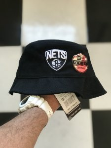 Bucket Hat New Era Brooklyn Nets Black