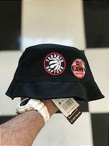 Bucket Hat New Era Toronto Raptors Black