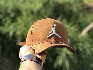 Cap Jordan Brand Jumpman Caramel Strapback Aba Curva