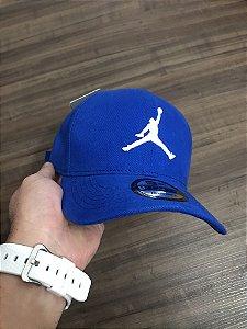 Cap Jordan Brand Jumpman Royal Blue Strapback Aba Curva